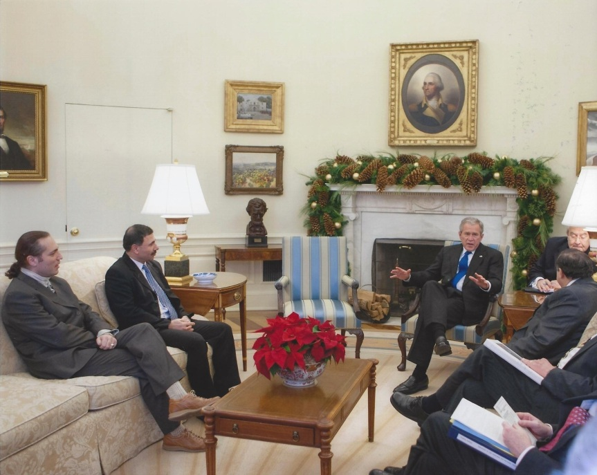 The White House, Oval Office, December 2007