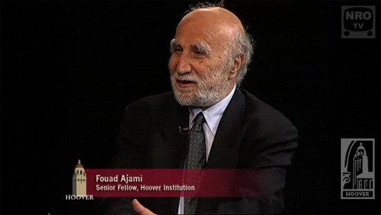Dr. Fouad Ajami, and his signature smile.