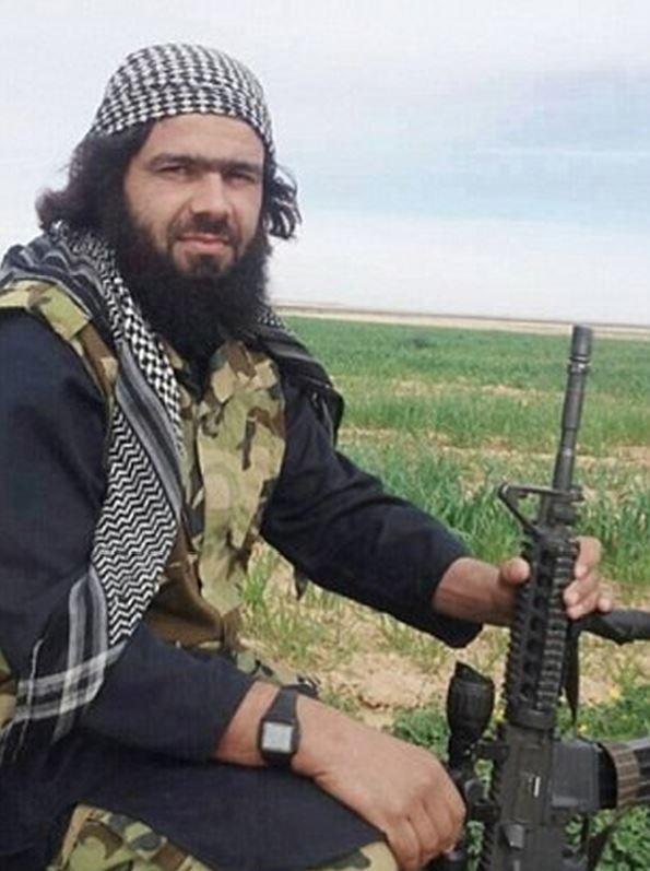 Abu Waheeb, an ISIS commander in Ramadi.