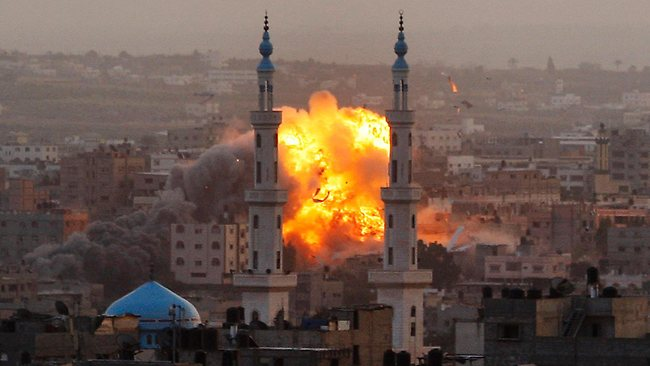 ISRAEL'S eight-day bombardment of the Gaza Strip has caused more than $US1.2 billion ($1.1 billion) in damage.