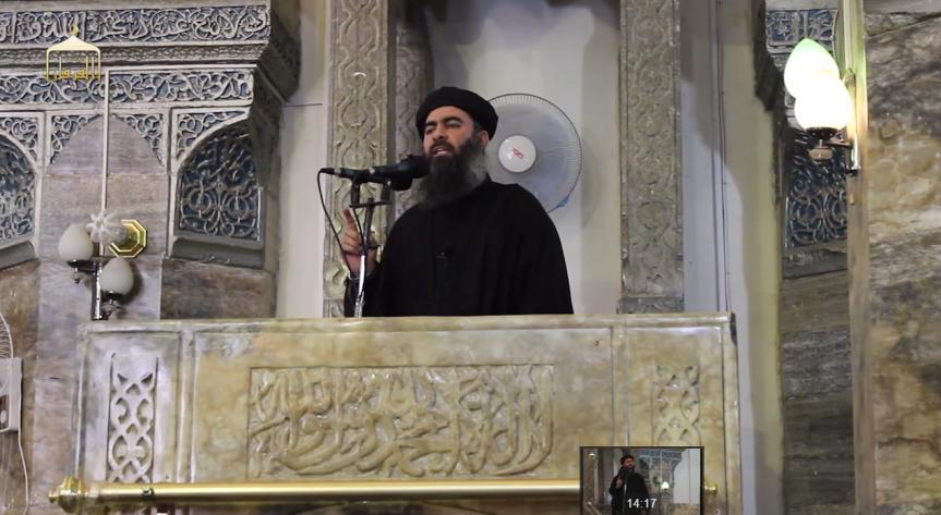 The Caliph in Mosul