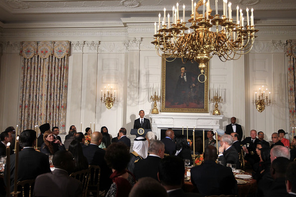 President Obama Hosts Iftar Dinner At White House To Celebrate Ramadan.