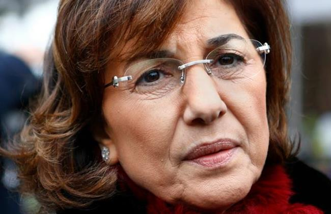 Assad political adviser Bouthaina Shaaban. She is also one of the Syrian officials under sanctions by the EU.