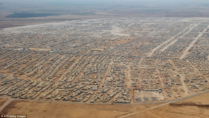 No matter how dismal things may look today, Syrian will thrive again. (Photo of the Zaatari refugee camp in Jordan)