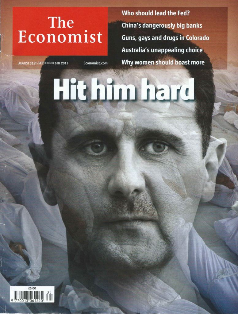 Getting rid off of a genocidal tyrant like Assad is still an essential component of the remedy needed for Syria, and the region.