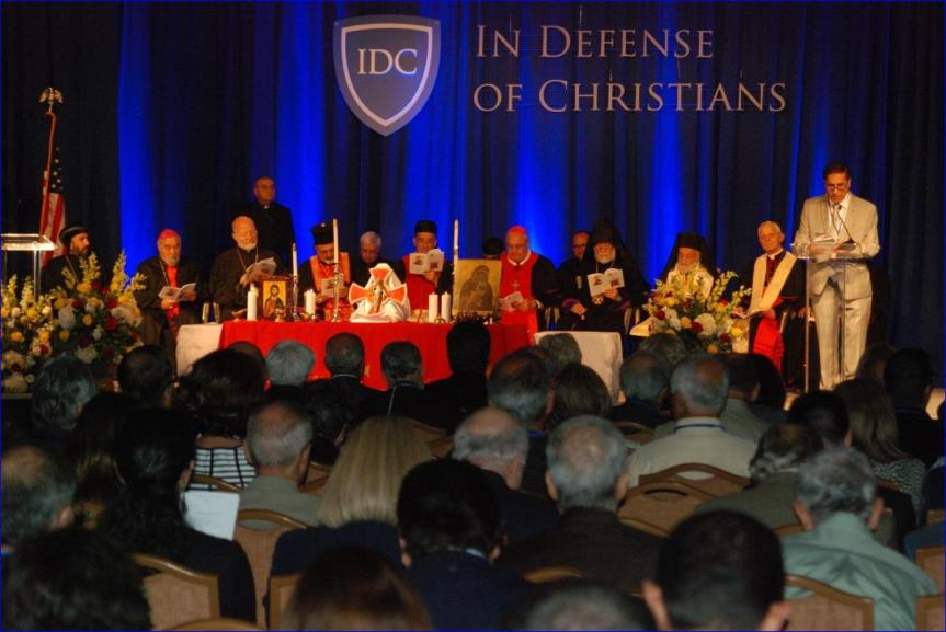 """In Defense of Christians"" Summit was a three day event that took place in Washington, D.C. between September 9-11, and included a meeting with President Obama."