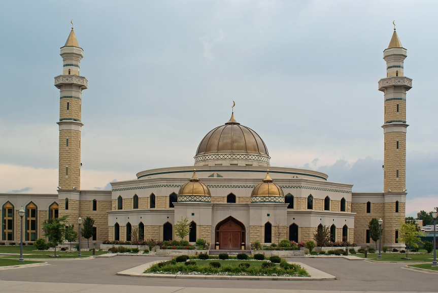 Islamic Center of America in Dearborn, Michigan