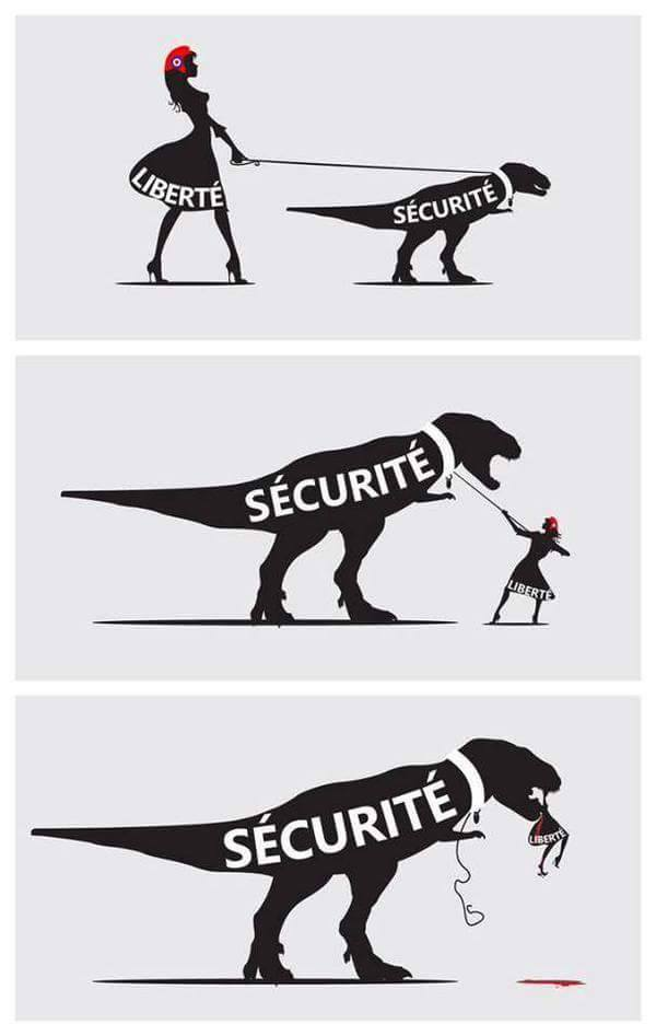 On March 15, 2011, the Syrian street was divided between those who wanted freedom and those who kept opting for security at all costs. This cartoon shows why liberty is a much better idea, for all the risks it brings.