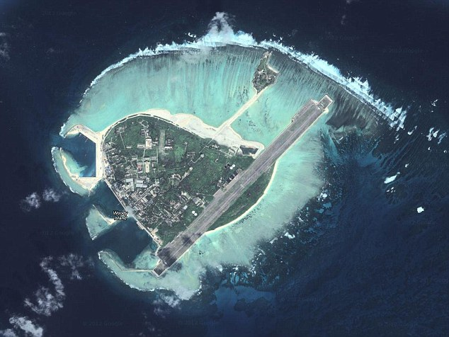 China recently celebrated the establishment of a new city on a tiny disputed island in the South China Sea.