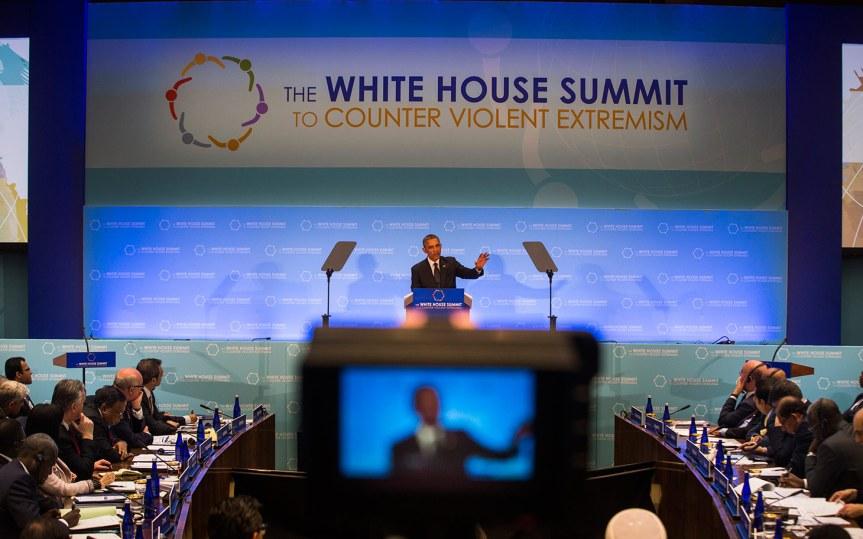 Obama counters violent extremism